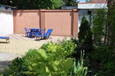 of three-room house for long rent Odessa