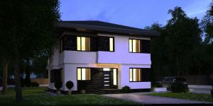 four-room house for sale 158 sq. m., 5 hundred parts Kievskaya